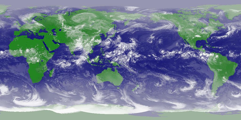 衛星画像(世界)
