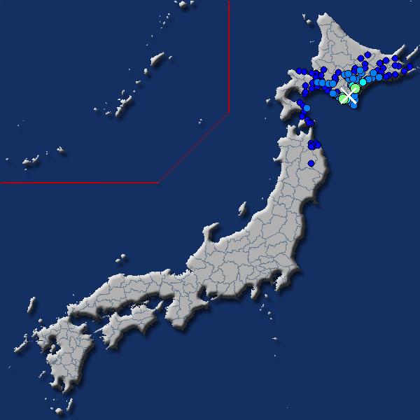 [震源地] 日高地方東部 [最大震度] 震度4 (2018年7月16日 02時13分頃発生) - goo天気
